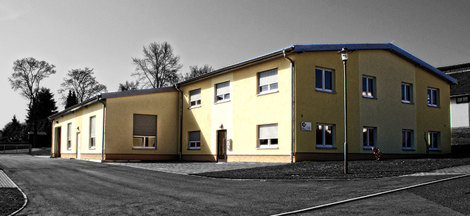 Die Druckerei von Gutermuth in Grünhainichen
